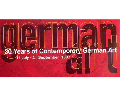 german art - Zeitgenössische deutsche Kunst der letzten 30 Jahre, Singapore Art Museum, Singapur, 1997 © Stiftung für Kunst und Kultur