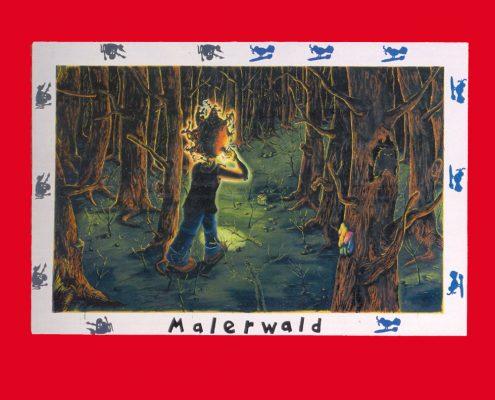 Jörg Immendorff – Malerwald, MKM Museum Küppersmühle für Moderne Kunst, 1999 © Stiftung für Kunst und Kultur