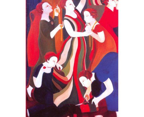 Die Frauen von Sitges – Florencia Coll, 1999 © Stiftung für Kunst und Kultur