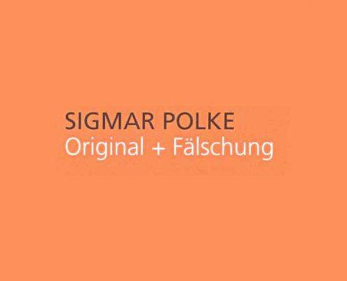Sigmar Polke, Ausstellung: Original und Fälschung, MKM Museum Küppersmühle für Moderne Kunst, 2003 © Stiftung für Kunst und Kultur