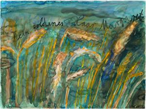 Anselm Kiefer, Dein goldenes Haar, Margarete, 1980© Anselm Kiefer