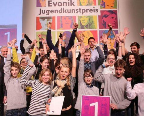 Evonik Jugendkunstpreis 2015, Gewinner
