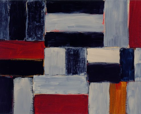 Sean Scully, Small Barcelona Painting 9.15.99, 1999, Privatsammlung, © Sean Scully, Foto Atelier Sean Scully