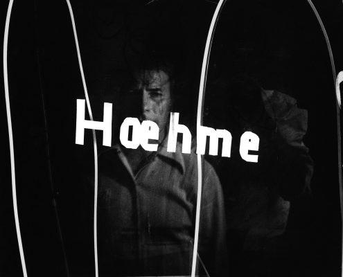 Gerhard Hoehme, Galerie L'Attico, Rom, vermutlich 1967, Foto: Robert Häusser