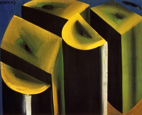 Markus Lüpertz, Baumstamm – dithyrambisch, 1965, MKM Museum Küppersmühle für Moderne Kunst, Duisburg, Sammlung Ströher, Darmstadt © VG Bild-Kunst, Bonn 2016, Foto: Jochen Littkemann, Berlin