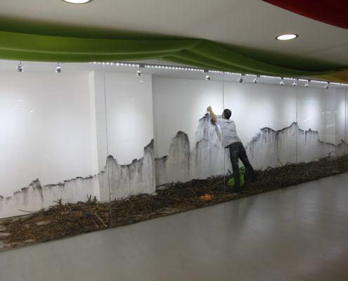 Ricard Chiang, Compostera, 2014/15, Installation, Organisches Material © Ricard Chiang, Foto: Wendi Lai