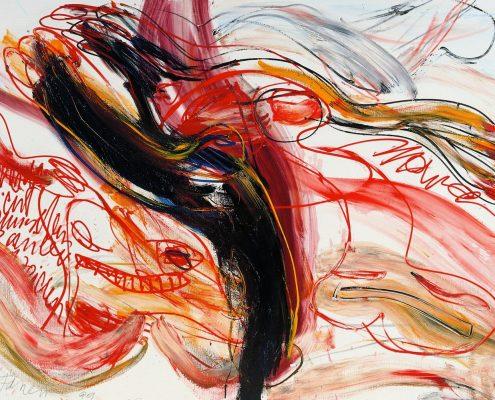 Walter Stöhrer, Wie das Licht zwischen Zauber und Zeichen, 1999