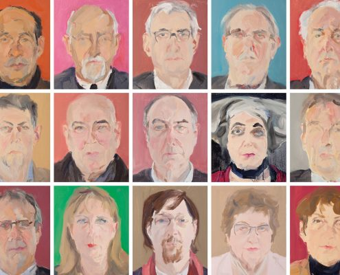 TONG YANRUNAN   FRONTAL – Portraits aus Bonn und der Region