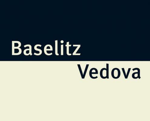 Katalogcover Baselitz-Vedova, 2016