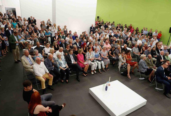 Ausstellungseröffnung Erwin Wurm, MKM Museum Küppersmühle für Moderne Kunst
