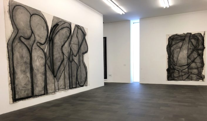 Ausstellungsansicht KLAUS RINKE, MKM 2019